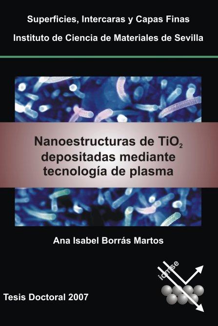 Nanoestructuras de TiO2 depositadas mediante tecnología de plasma